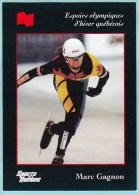 Olympics Teams - Marc Gagnon, Banque National (OG1023) - Trading Cards