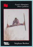 Olympics Teams - Stéphane Rochont, Banque National (OG1035) - Trading Cards