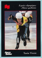 Olympics Teams - Tania Vicent, Banque National (OG1038) - Trading Cards