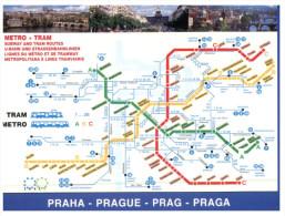 (456)) Map Of Prague Metro - Praha - Maps