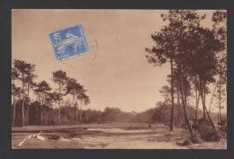 DF / 40 LANDES / HOSSEGOR / LE GOLF / GREEN N° 10 / CIRCULÉE EN 1932 - Hossegor