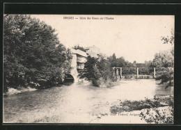 CPA Sorgues, Usine Des Roues Sur L'Ouvèze - Sorgues