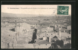 CPA Carpentras, Vue Générale Prise Du Clocher De La Cathédrale De Saint-Siffrein - Carpentras