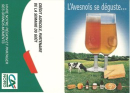RECETTE FROMAGE BIERE BEER L´AVESNOIS SE DEGUSTE  SEMAINE DU GOUT  CREDIT AGRICOLE NORD 1999 - Recettes (cuisine)