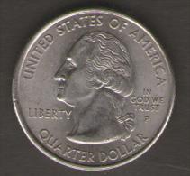 STATI UNITI QUARTER DOLLAR 2000 NEW HAMPSHIRE - 1999-2009: State Quarters