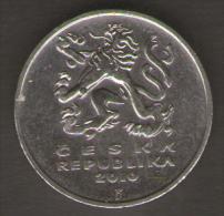 REPUBBLICA CECA 5 KORUN 2010 - Repubblica Ceca