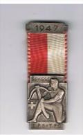 M�daille  suisse   tir � l'arbalette    1947