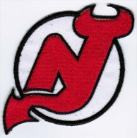 New Jersey Devils National Hockey League NHL Badge Embroidered Patch - Scudetti In Tela