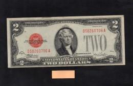 Billets de 2 dollars, 1928 s�rie F. tr�s bel �tat