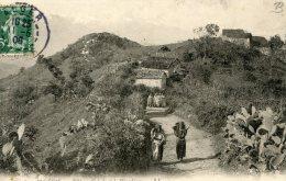 C5368 Cpa Algérie -  Village Kabyle Et Le Djurdjura - Other Cities