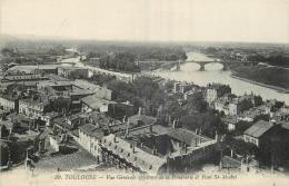 31-368  CPA  TOULOUSE  Vue Générale Apparent De La Poudrerie Et Pont St Michel       Belle Carte - Toulouse