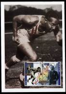 Republic De Guinee Olympics Eddie Tolan On Kind Of Maximcard Or Memorycard 2001