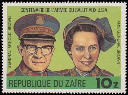 Zaire 1025**  Armee Du Salut MNH - 1980-89: Neufs