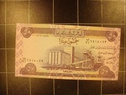iraq 50 dinar 2003  neuf