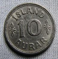 ICELAND 1923HCN - 10 AURAR - Iceland