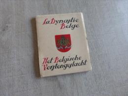 @    BELGIQUE  BRUXELLES  -   LA DYNASTIE BELGE DEPLIANT DE PETITES PHOTOS   @ - Belgique