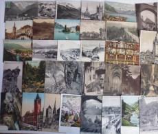 Suisse Lot De 63 CPA - 5 - 99 Cartoline