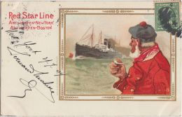 25937g H. CASSIERS - Red Star Line - Bateau - Marin -  New York 1909 - Illustrateurs & Photographes