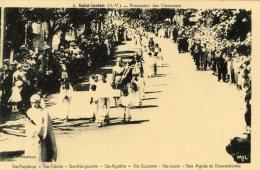 C5429 cpa 87 Saint Junien - Procession des ostensions