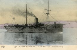 C5442 Cpa   Bateaux -  Marine Nationale, Tourville, Ecole De Canonnage - Ships