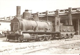 Nº4068 POSTAL DE ESPAÑA DE UNA LOCOMOTORA DE VAPOR EN PUEBLO NUEVO AÑO 1959 (TREN-TRAIN-ZUG) AMICS DEL FERROCARRIL - Trenes