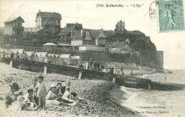 N°43752 -cpa Quiberville -l'épi- - France