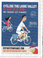 CYCLING  The   LOIRE   VALLEY   In  PAYS   De  La  LOIRE - Ciclismo