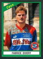 Football, Panini (1991), N° 53 : Fabrice Divert (Caen) - Non Classés