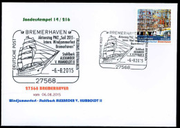 35540) BRD - Michel 3172 - FDC - 62C Windjammerfestival - ESST 27568 BREMERHAVEN - Stahlbark ALEXANDER V. HUMBOLDT II - BRD