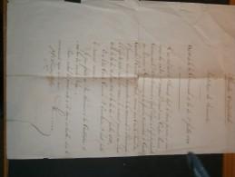 FLANDRE OCCIDENTALE 12/1/1867 Prestation De Serment Du Comte Camile D'Ennetières D'hulst Comme Bourgmestre D'Elverdinghe - Documents Historiques