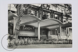 1960´s Real Photo Postcard - The River Entrance Of The Savoy - Postales