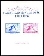 CHILE - SKI Souvenir Sheet 1966 VF - Chile