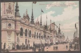 59 - ROUBAIX--1911--Exposition Internationale Du Nord De La France-Le Grand Palais Des Industries Texteiles-colorisée - Roubaix