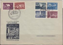 22. YUGOSLAVIA 1950 Philatelic Exhibition Navy Day Commemorative Cover - 1945-1992 Repubblica Socialista Federale Di Jugoslavia