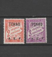 Yvert Taxe 10 - 11 * Neuf Avec Charnière - Tschad (1922-1936)