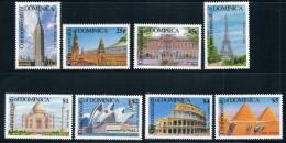 Dominica 1991 World Heritage pyramid Taj 8 new 0608