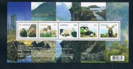 Canada 2014 Mammal Souvenir Sheet 1MS New 0626 - Ungebraucht