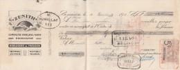 Lettre Change 30/12/1913 ZENITH Horlogerie BESANCON Doubs Pour Aurillac Cantal - Lettres De Change
