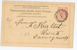 Bosnia And Herzogovina  Postcard  P4 Used - Covers & Documents