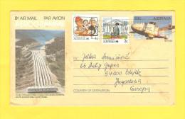 Old Letter - Australia, Aerogramme - Autres