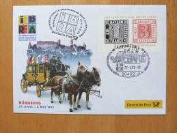 Bund Brief IBRA 1999 In Nürnberg Sonderstempel - [7] République Fédérale