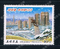 KR1204  2014 New Year Winter Landscape 1 New 0428 Maxima - Korea (Nord-)