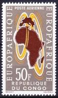 CONGO POSTE AERIENNE 1963 YT N° PA 14 ** - Congo - Brazzaville