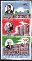 CONGO POSTE AERIENNE 1966 YT N° PA 41 à 43 ** - Congo - Brazzaville