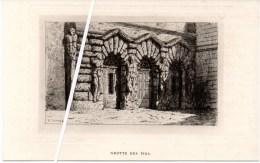 Lithographie Du 19ème S. Grotte Des Pins - Château De Fontainebleau. - Lithographies