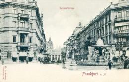 Frankfurt A. Main- Kaiserstrasse - Non Classés