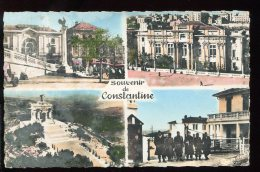 CPSM Algérie Souvenir De CONSTANTINE Multi Vues - Constantine