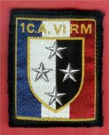 Ecusson De Bras 1er Corps D´Armée Et VIème RM- [507]_m158 - Patches