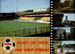 STADES - SAINT-ETIENNE - Multi Vues - Allez Les Verts - Foot - Stades