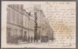 75 - PARIS--Fort Chabrol-manisfestation--miilitaires--Pr�curseur--1899